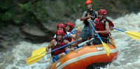 Whitewater rafting on the Rio Toro
