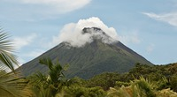 Majestic Arenal Volcano creates its own weather
